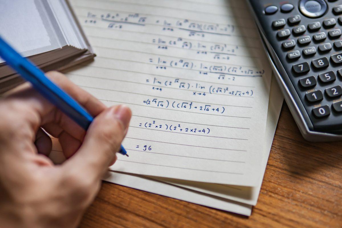 calculs mathématiques